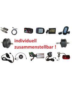 Premium E-Bike Pedelec Elektro-Fahrrad Umbausatz -individuell zusammenstellen!-