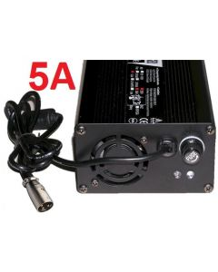 Schnell Ladegerät 36V 5A LifePo4 Lader Elektrofahrrad Pedelec Li-Ion eBike 43.2V 5A