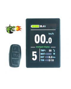 eBike Display KT-LCD8S Tachoanzeige 24V 36V 48V