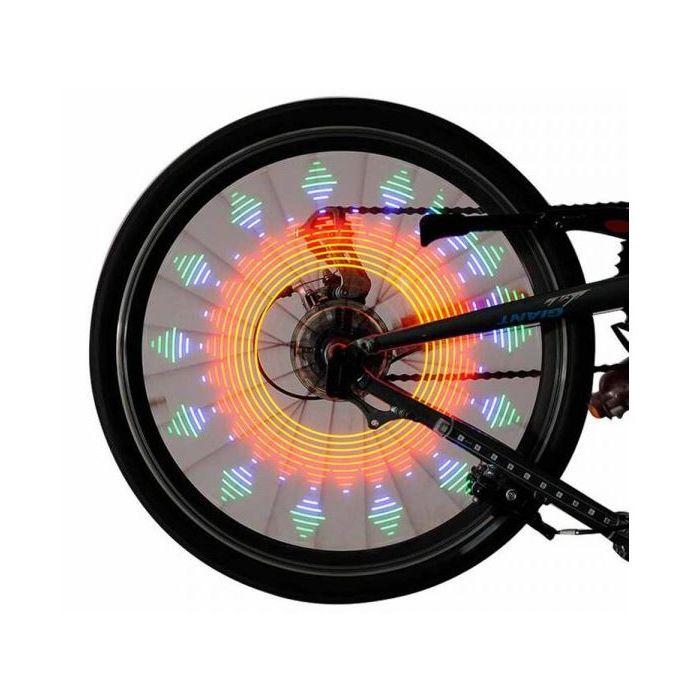 Fahrrad Speichen Licht LED programmierbar licht mit 32 LEDs Patterns TK